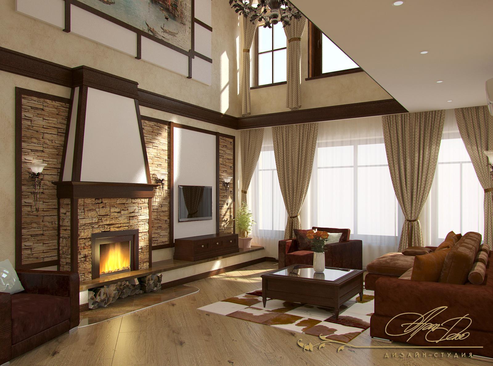Дизайн интерьера и готовые интерьеры домов и квартир